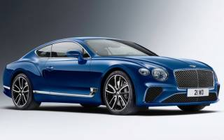 Заряженный Bentley Continental GT 2018