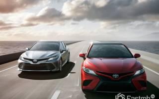 Производство Toyota Camry 2018