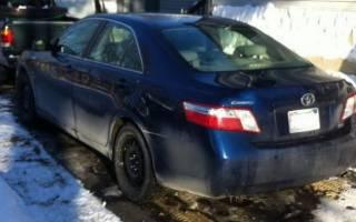 Тойота камри не заводится в мороз