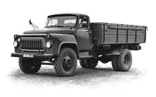 Газ 53 объем кузова