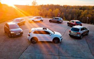Полностью новый Volkswagen Tiguan