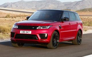 Гибридная версия Range Rover Sport