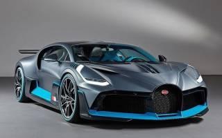 Обзор Bugatti Divo 2018