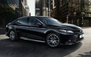 Новую Toyota Camry 2018 привезут в Россию