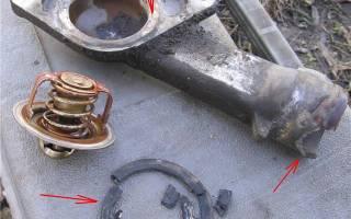 Замена термостата дэу нексия 8 клапанов