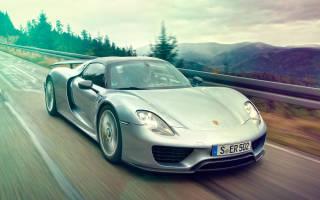 Тюнинг Porsche Cayman, копирующий 918 Spyder