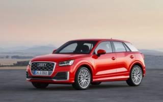 Новый Audi Q2 2017, обзор кроссовера