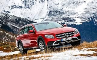 Новый Mercedes All Terrain
