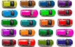 Самые популярные цвета автомобилей 2016 года