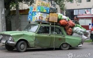 Какой груз может перевозить легковая машина