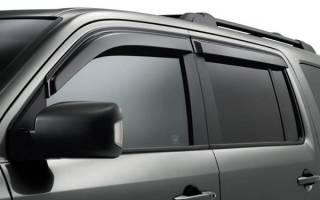 Как выбрать дефлектор для автомобиля